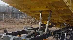 Sunkių krovinių puspriekabės DPS (Dinapolis priekabos)