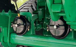 Grūdų puspriekabės DINA DP - DINAPOLIS traktorinė priekaba