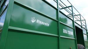 Gyvulių pervežimo puspriekabės DINA TRV (Dinapolis priekabos)