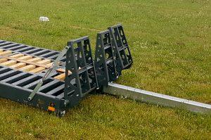 MINI technikos pervežimo platforma - mini tralas - platforma