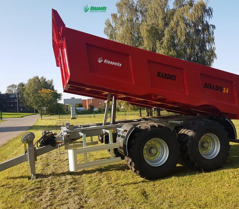 1. Dinapolis sunkiu kroviniu puspriekabe, dumper, dump trailer, tractor trailer1 copy