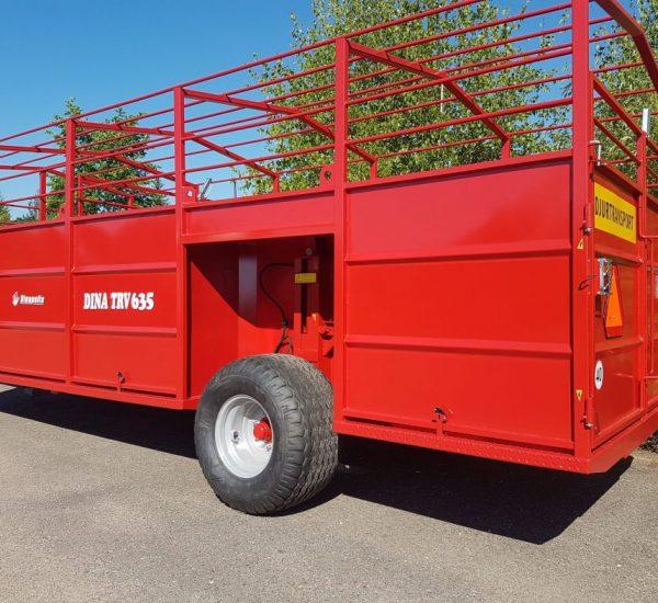 1. Gyvuliu pervezimo priekaba, galviju priekaba, gyvuliu pervezimas, gardas, traktorine priekaba, livestock trailer, livestock, animal trailer1